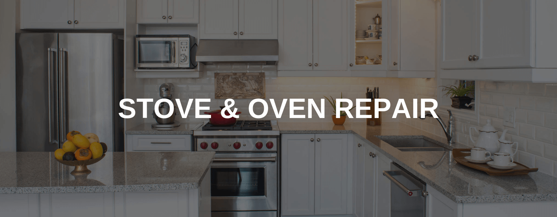 stove repair arlington